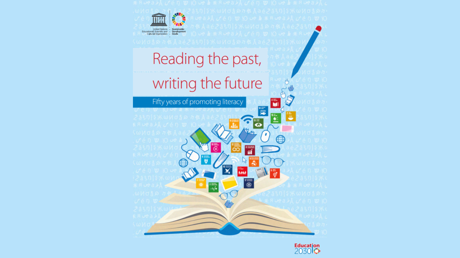 Reading the past, writing the future - Fifty years of promoting literacy