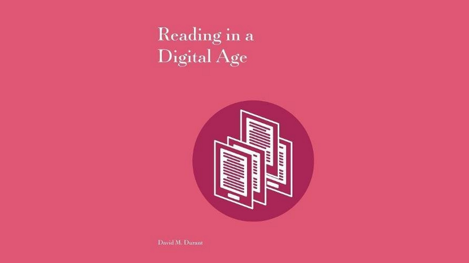 Reading in a Digital Age